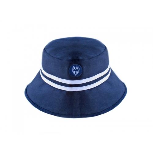 Sombrero Playero para Niño Rayados Azul