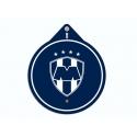 Colgante Logotipo Rayados