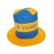 Sombrero de copa bicolor Tigres