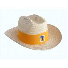 Sombrero de Palma Niño Truman Tigres Banda Amarilla