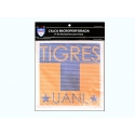 Logotipo Tigres en vinil microperforado